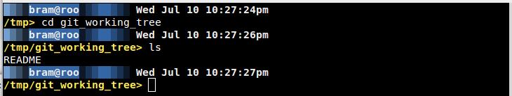 Screenshot of bigfade prompt on black