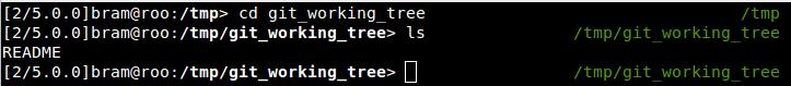 Screenshot of zefram prompt on black